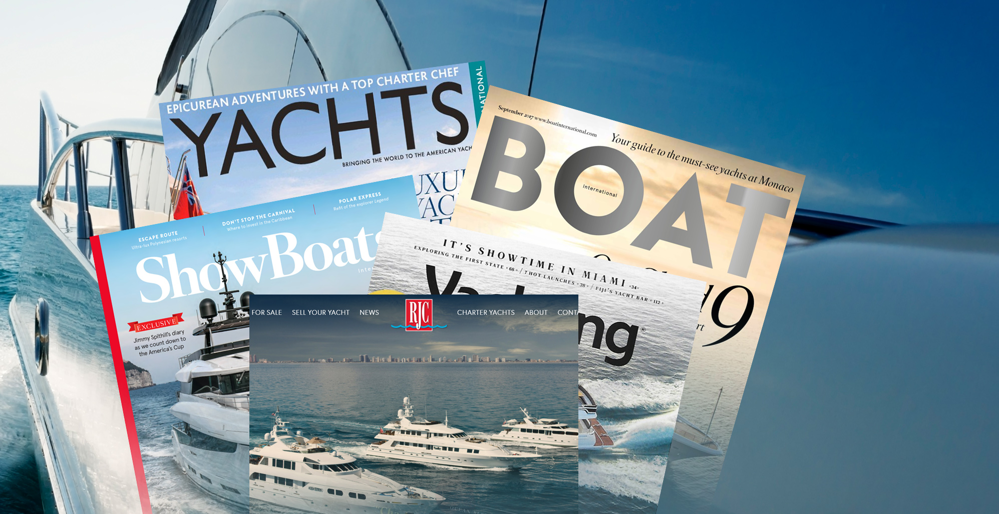 Marketing your Vessel | RJC Yachts