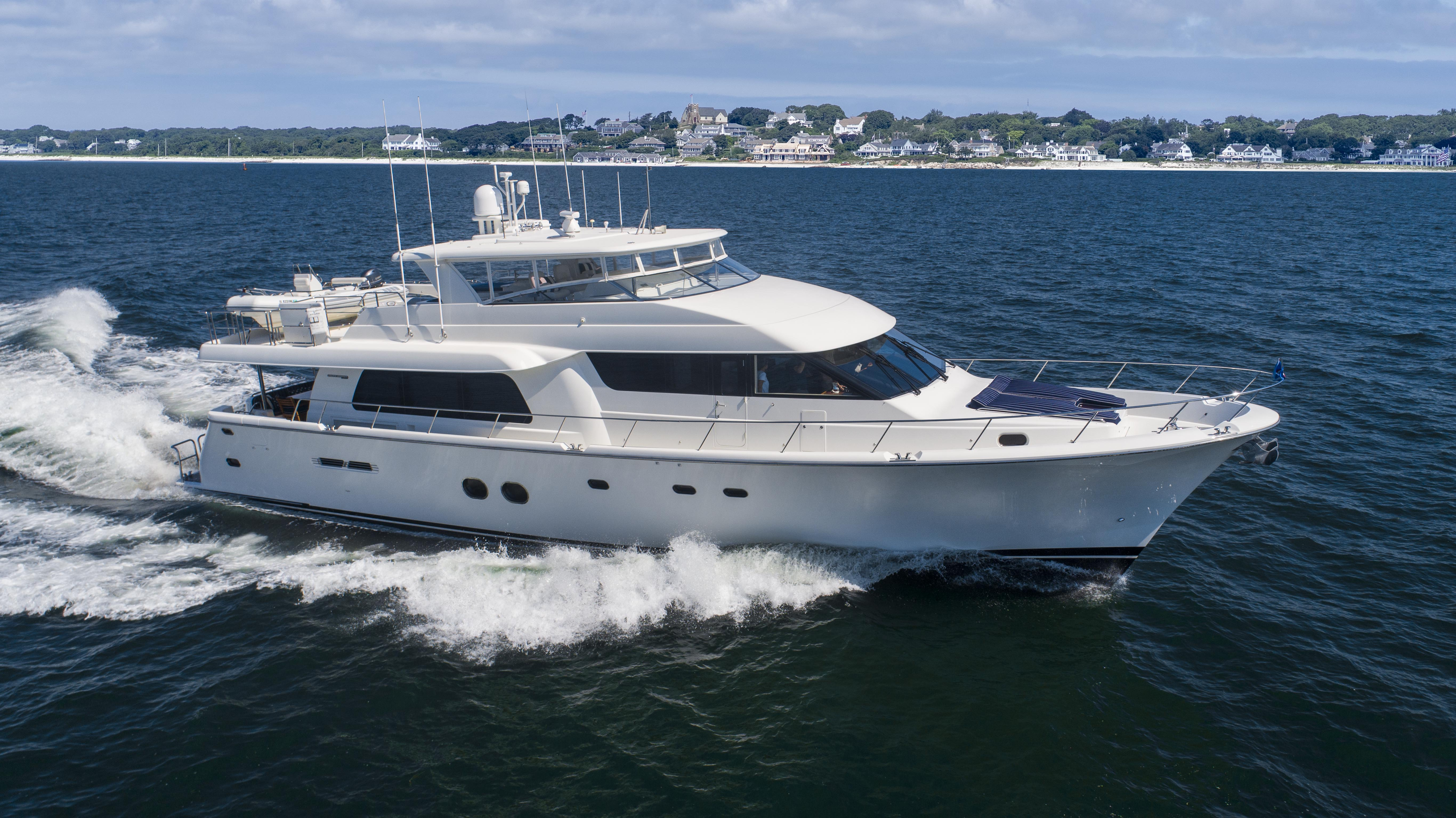 New Listing! The 2012 85' Pacific Mariner MY, BELLA is for